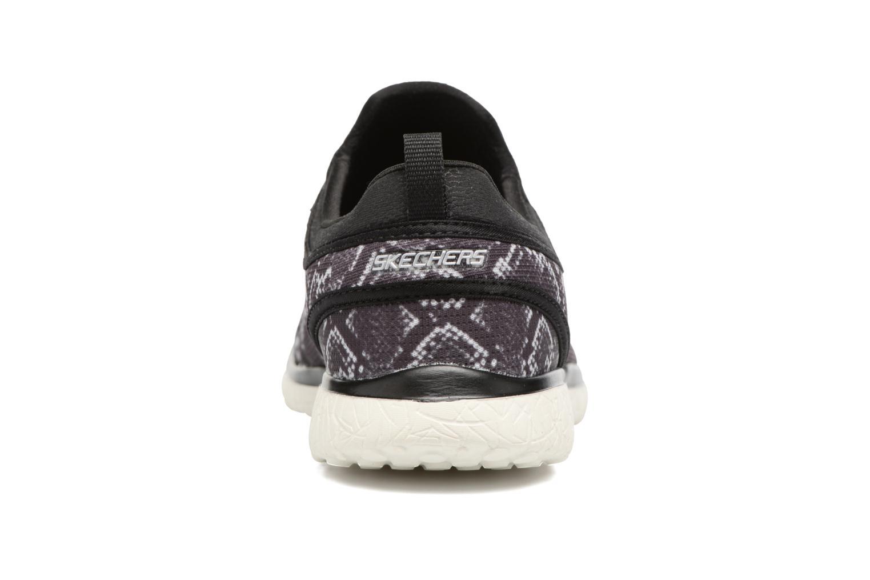 Sneaker Skechers Microburst Mamba schwarz ansicht von rechts