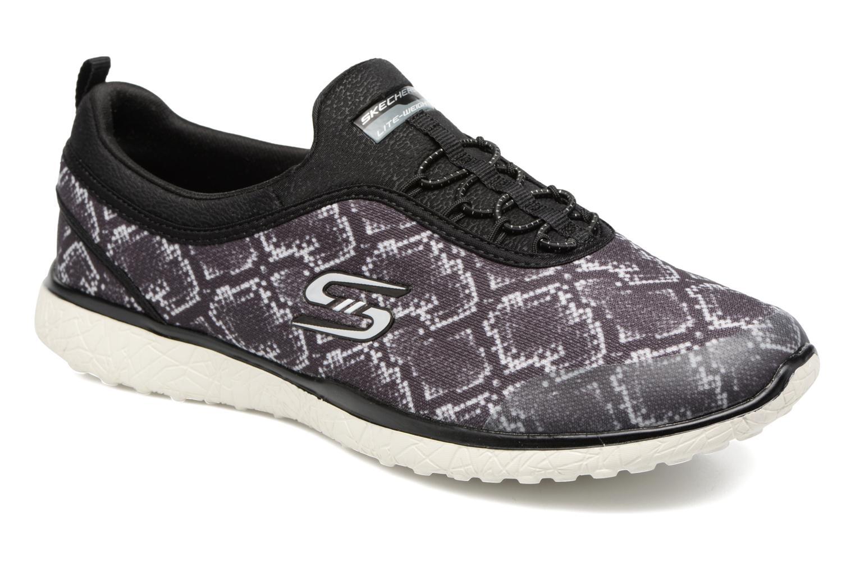 Sneakers Skechers Microburst Mamba Zwart detail