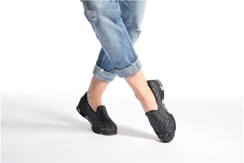Zapatillas de deporte Skechers GO Flex Agility Negro vista de abajo