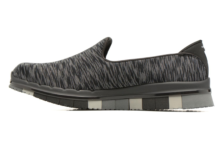 Zapatillas de deporte Skechers GO Flex Agility Negro vista de frente