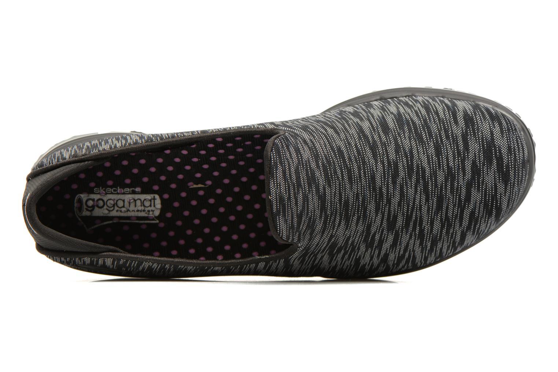 Zapatillas de deporte Skechers GO Flex Agility Negro vista lateral izquierda