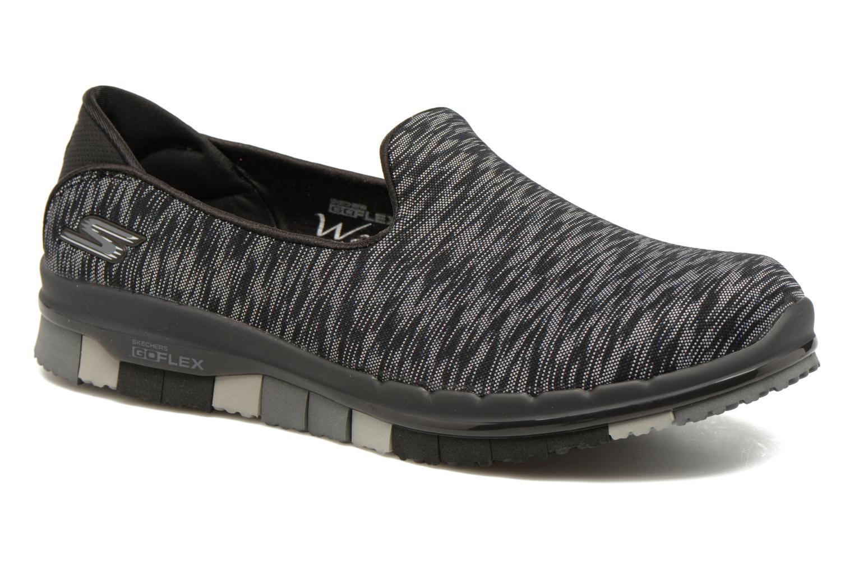 Zapatillas de deporte Skechers GO Flex Agility Negro vista de detalle / par