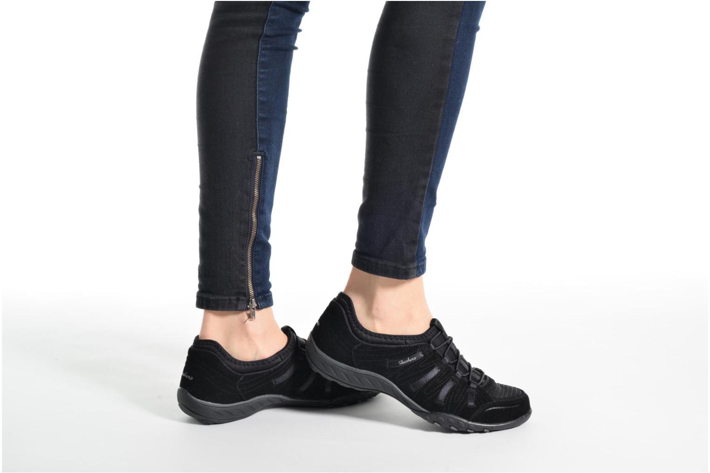 Sneaker Skechers Breathe-Easy Big Bucks grau ansicht von unten / tasche getragen