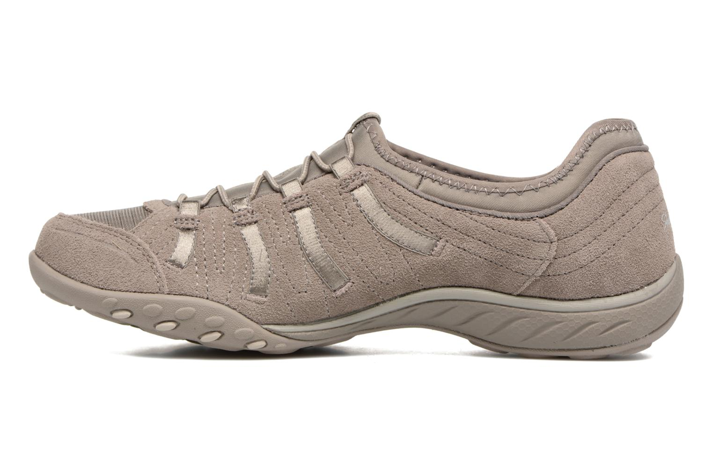 Sneaker Skechers Breathe-Easy Big Bucks grau ansicht von vorne