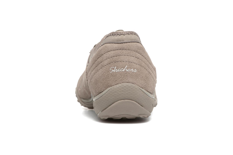Sneaker Skechers Breathe-Easy Big Bucks grau ansicht von rechts