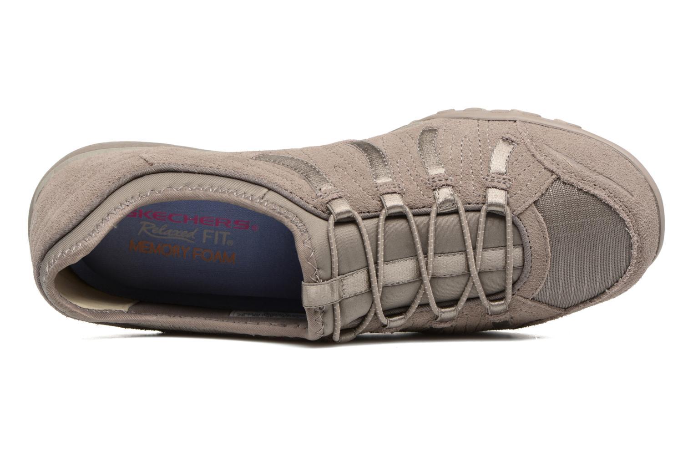 Sneaker Skechers Breathe-Easy Big Bucks grau ansicht von links