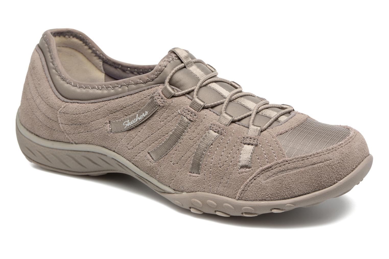Sneaker Skechers Breathe-Easy Big Bucks grau detaillierte ansicht/modell