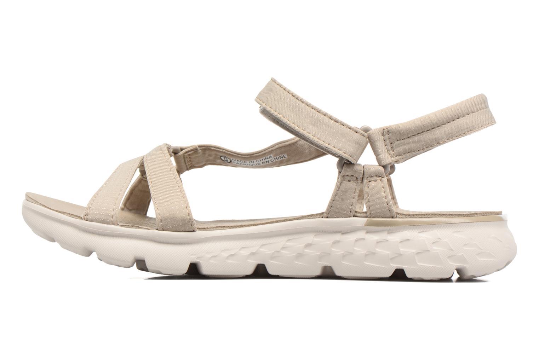 Sandaler Skechers on-the-GO 400 W Beige se forfra