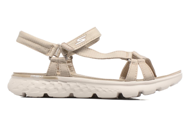 Sandaler Skechers on-the-GO 400 W Beige se bagfra