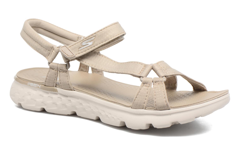 Sandaler Skechers on-the-GO 400 W Beige detaljeret billede af skoene