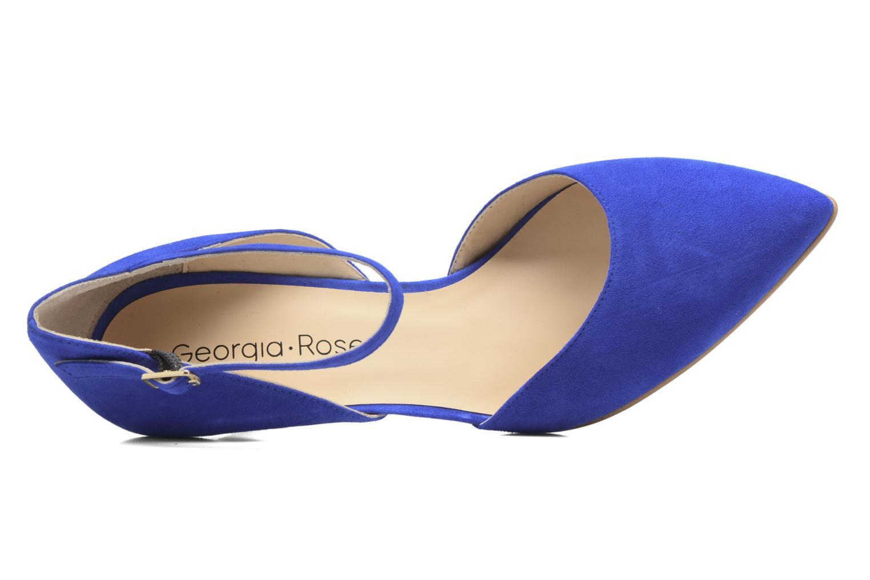 Escarpins Georgia Rose Apart Bleu vue gauche