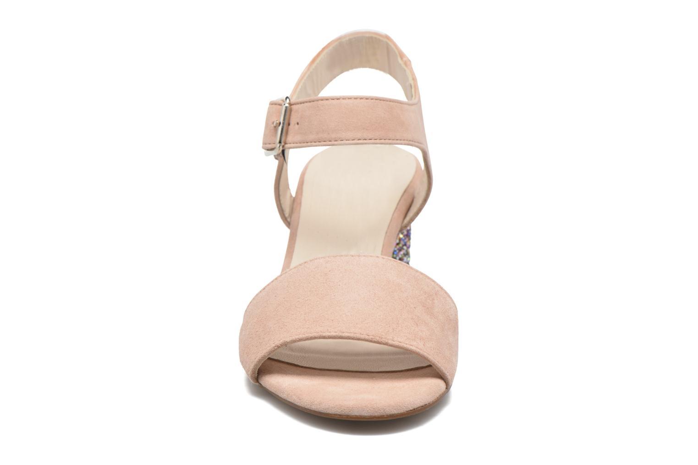 Sandali e scarpe aperte Georgia Rose Anayette Rosa modello indossato
