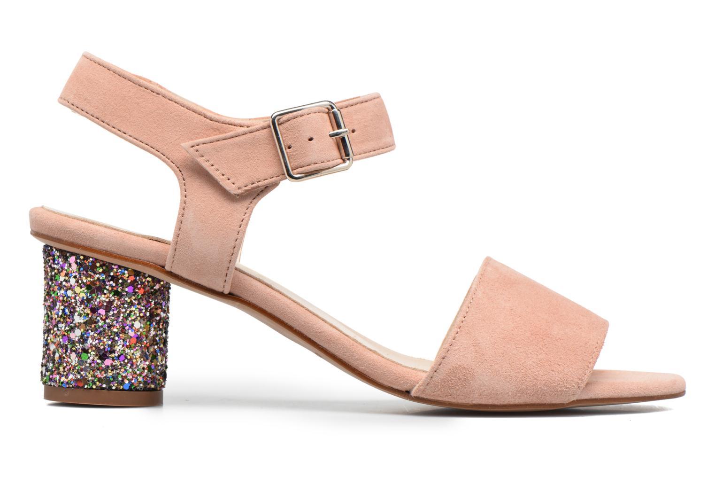 Sandali e scarpe aperte Georgia Rose Anayette Rosa immagine posteriore