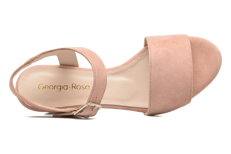 Sandali e scarpe aperte Georgia Rose Anayette Rosa immagine sinistra