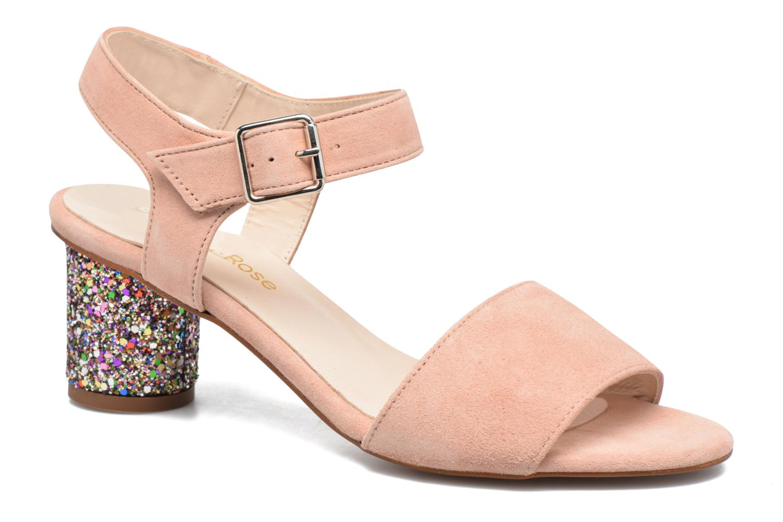 Marques Chaussure femme Georgia Rose femme Anayette velours nude + talon glitter