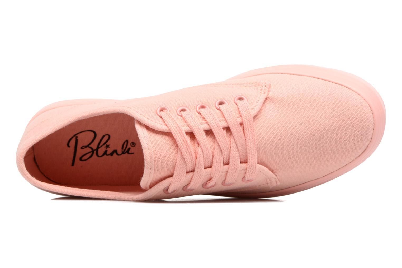 Sneaker Blink Bvayenl orange ansicht von links