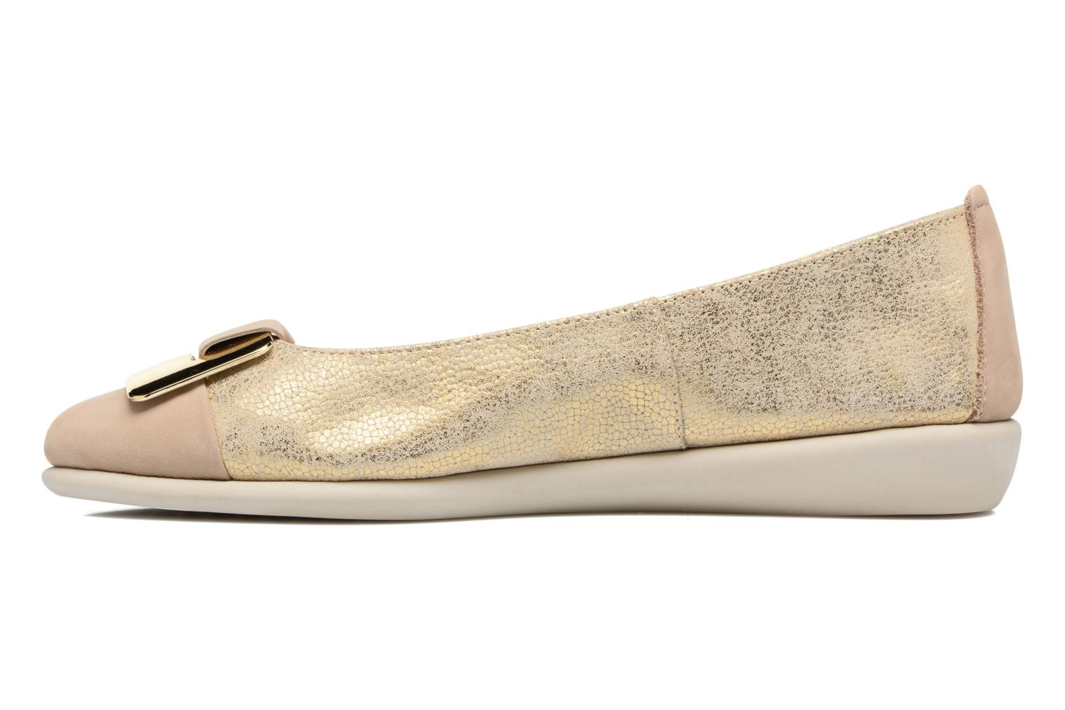 Ballet pumps The Flexx Rise N Curry Beige front view