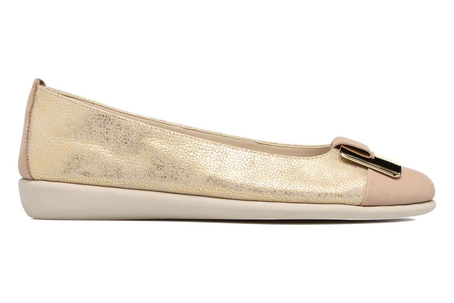 Ballet pumps The Flexx Rise N Curry Beige back view