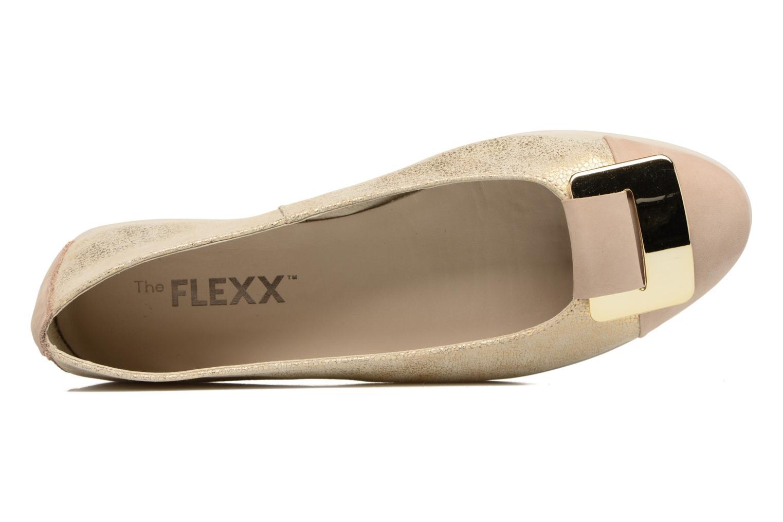 Ballerinas The Flexx Rise N Curry beige ansicht von links
