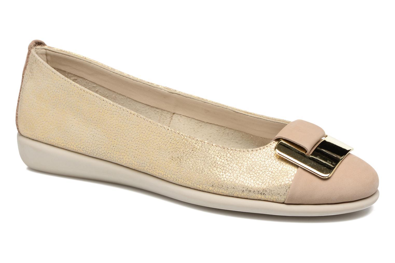 Zapatos casuales salvajes The Flexx Rise N Curry (Beige) - Bailarinas en Más cómodo