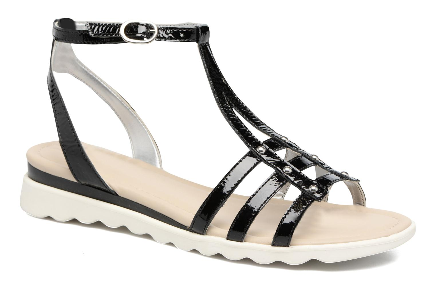 Sandals The Flexx A Cute Black detailed view/ Pair view