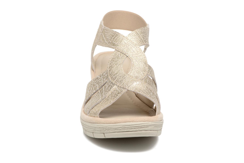 Sandali e scarpe aperte The Flexx Ammapete Oro e bronzo modello indossato