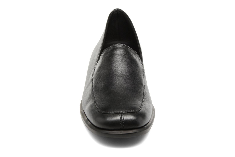 Slipper Aerosoles Four William schwarz schuhe getragen