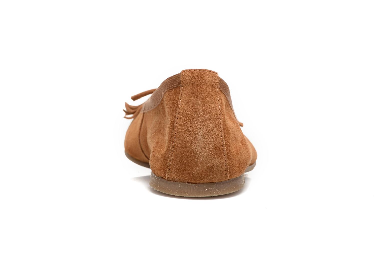 Lafrange cuire suede marron