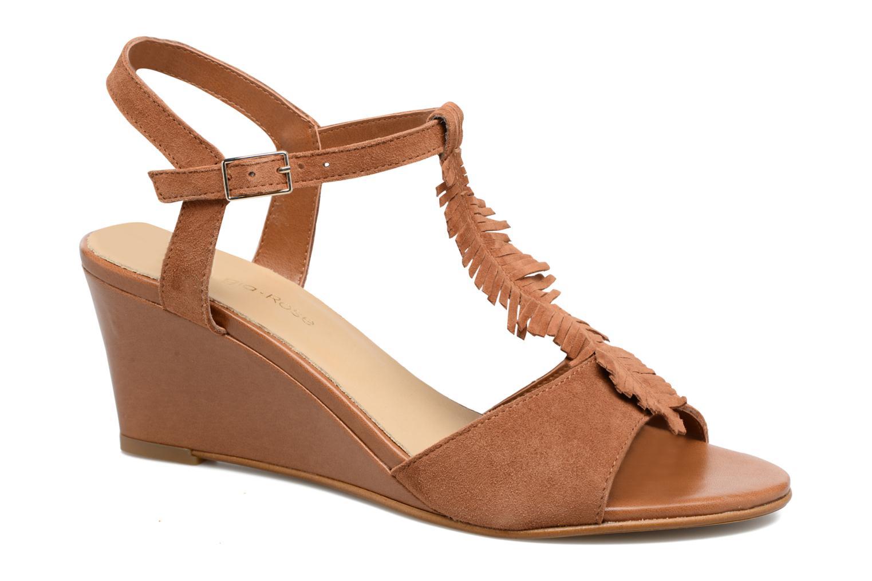Sandales et nu-pieds Georgia Rose Lilifrange Marron vue détail/paire