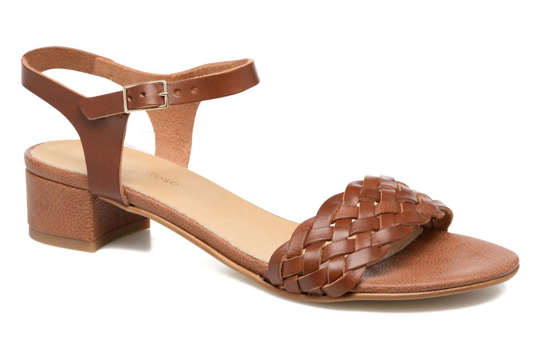 Sandales et nu-pieds Georgia Rose Loutresse Marron vue détail/paire