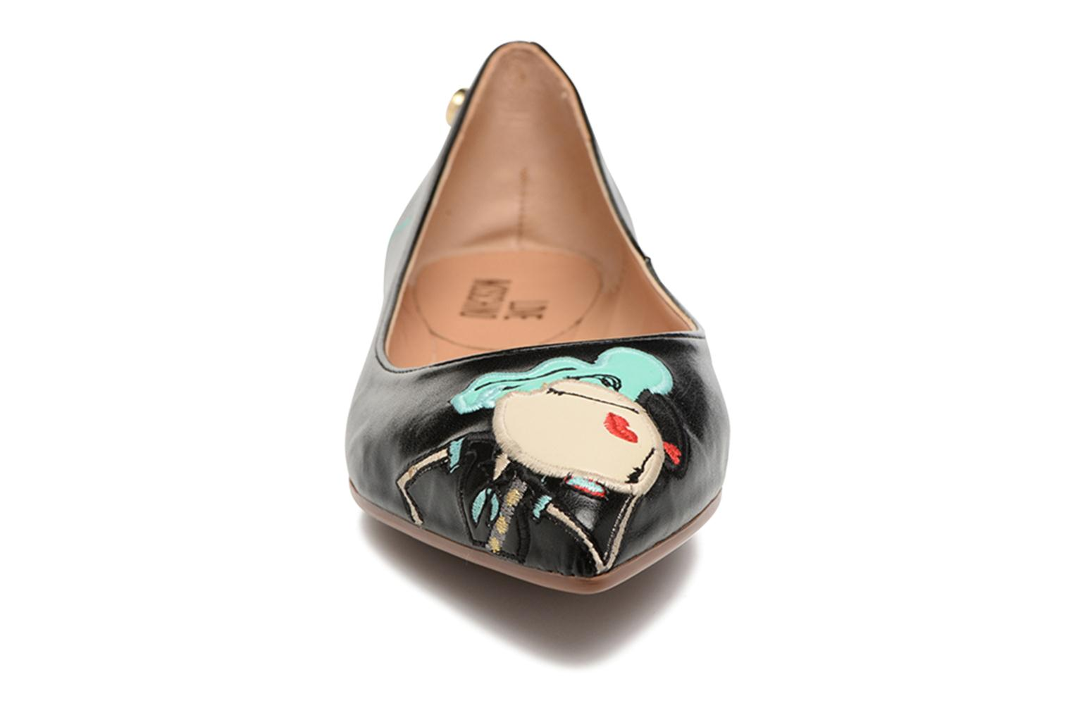 Ballet pumps Love Moschino Baila Red model view