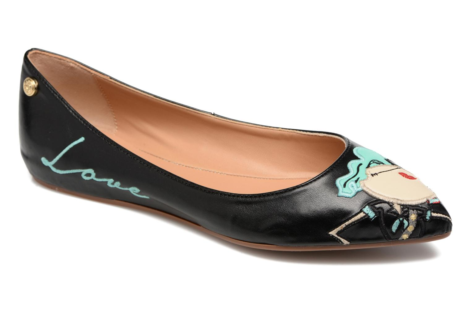 Ballet pumps Love Moschino Baila Red detailed view/ Pair view