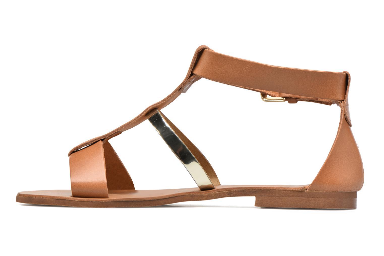 Sandalen Georgia Rose Dolion braun ansicht von vorne
