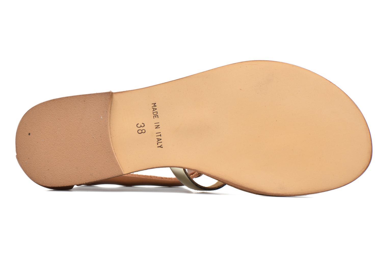 Sandalen Georgia Rose Dolion braun ansicht von oben