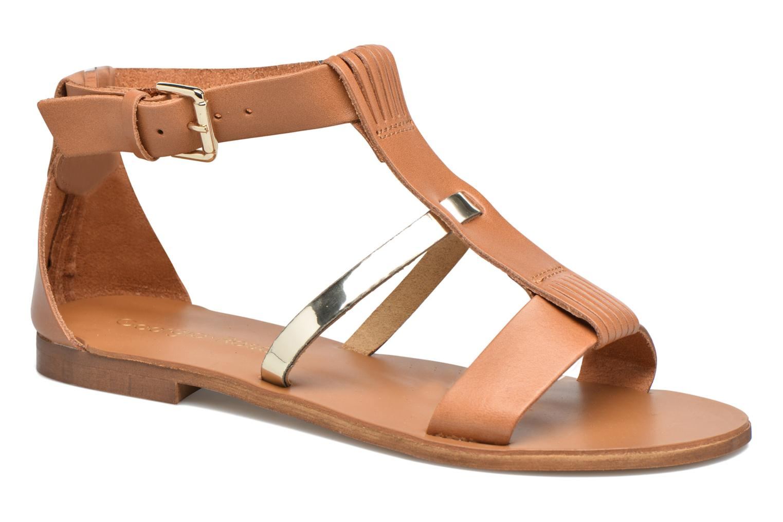 Sandales et nu-pieds Georgia Rose Dolion Marron vue détail/paire