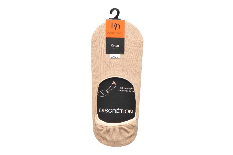 Calze e collant Doré Doré Chaussettes Liners Solerette Unisex Beige immagine posteriore