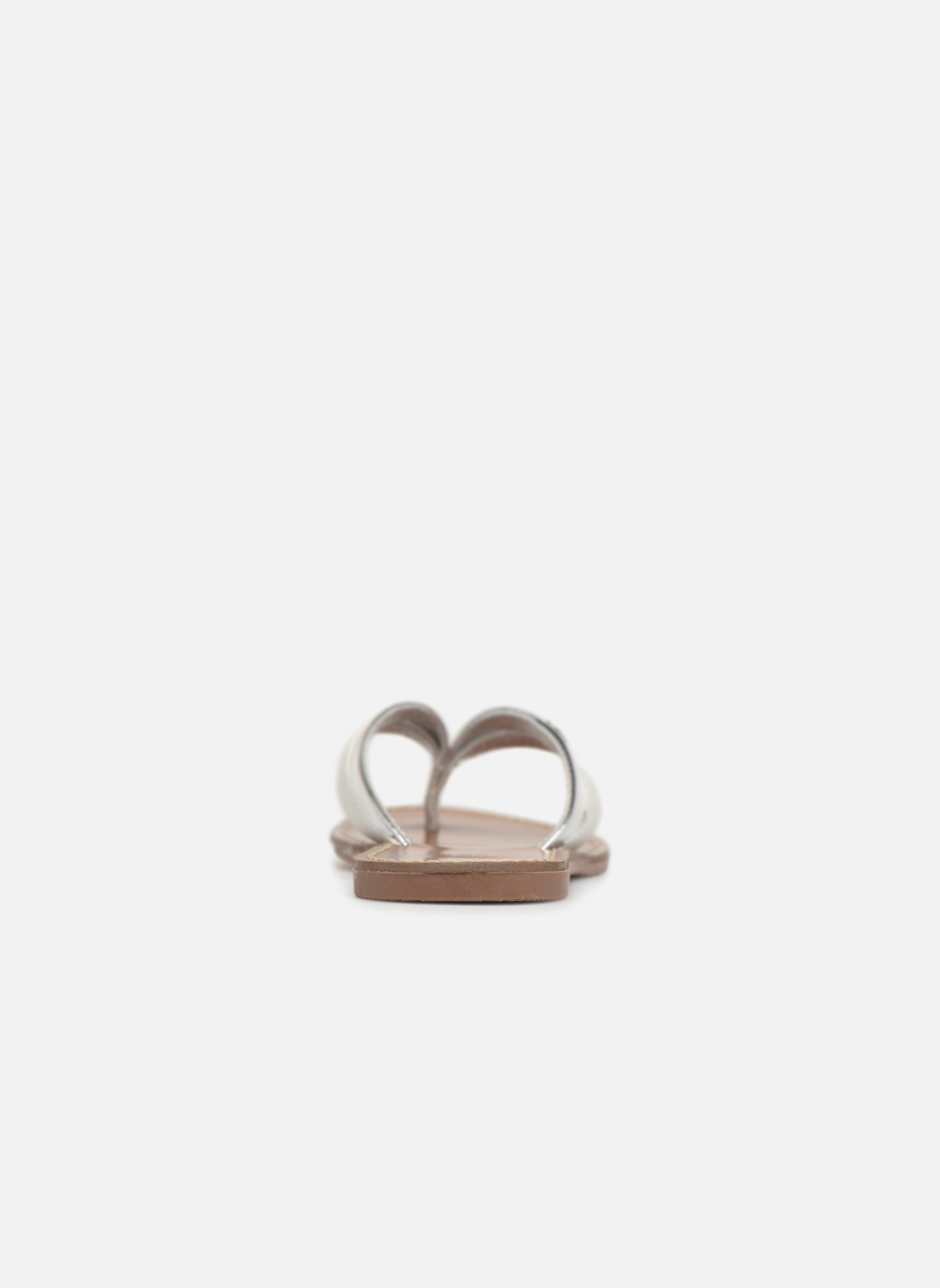 Flip flops Les P'tites Bombes Kalinda Silver view from the right