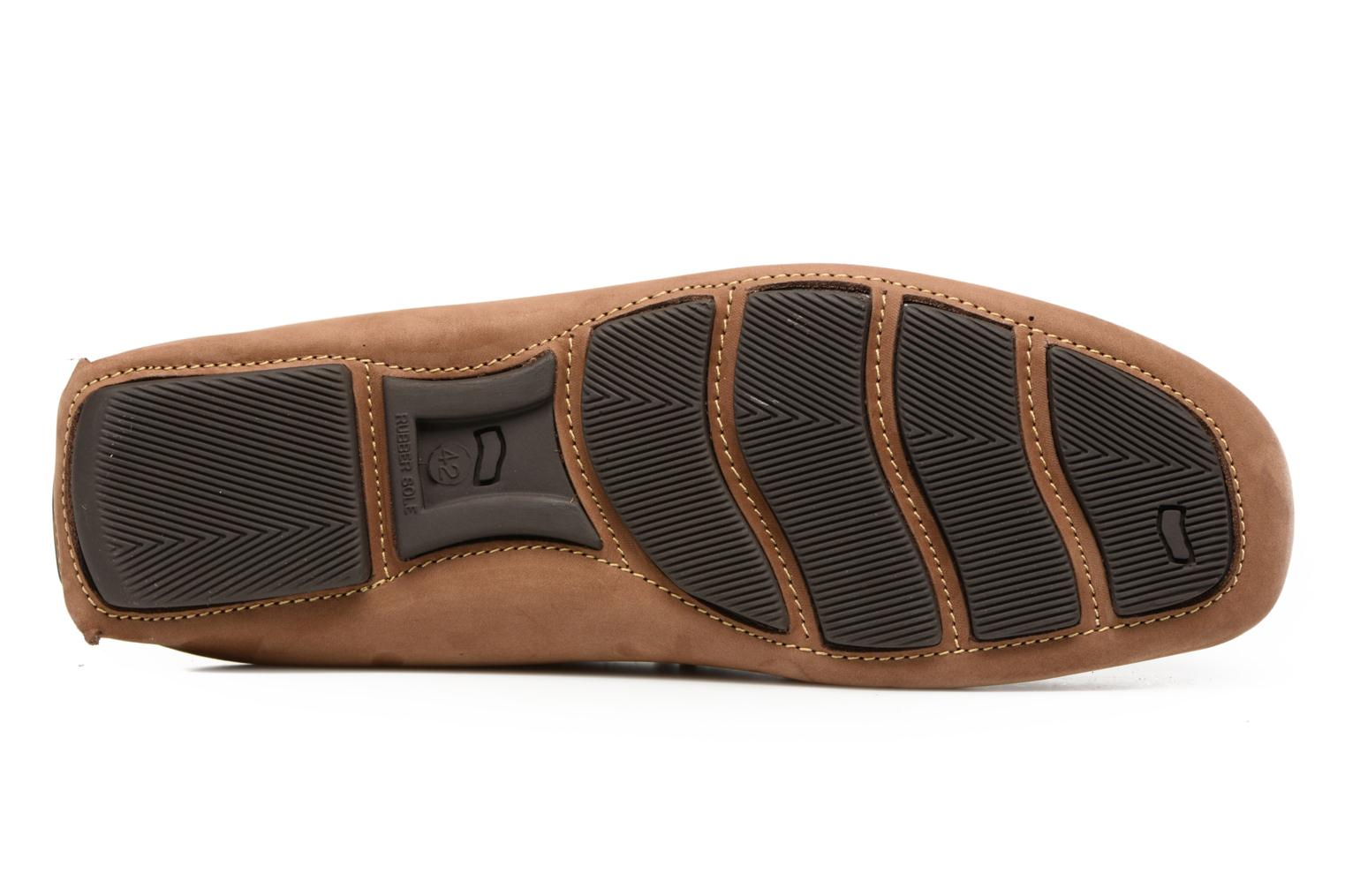 Mocassins Marvin&Co Sutton Marron vue haut