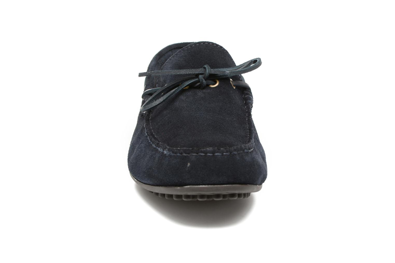 Mocassins Marvin&Co Stalban Bleu vue portées chaussures