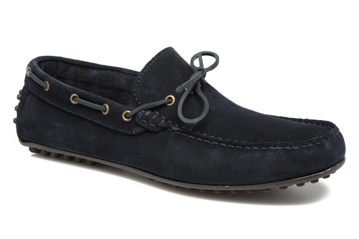 Mocassins Marvin&Co Stalban Blauw detail