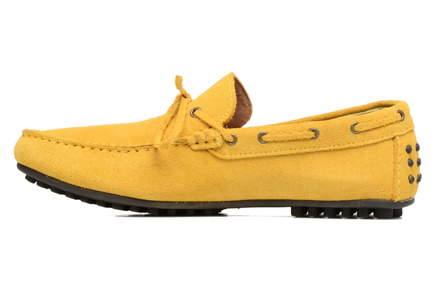 Mocassins Marvin&Co Stalban Jaune vue face