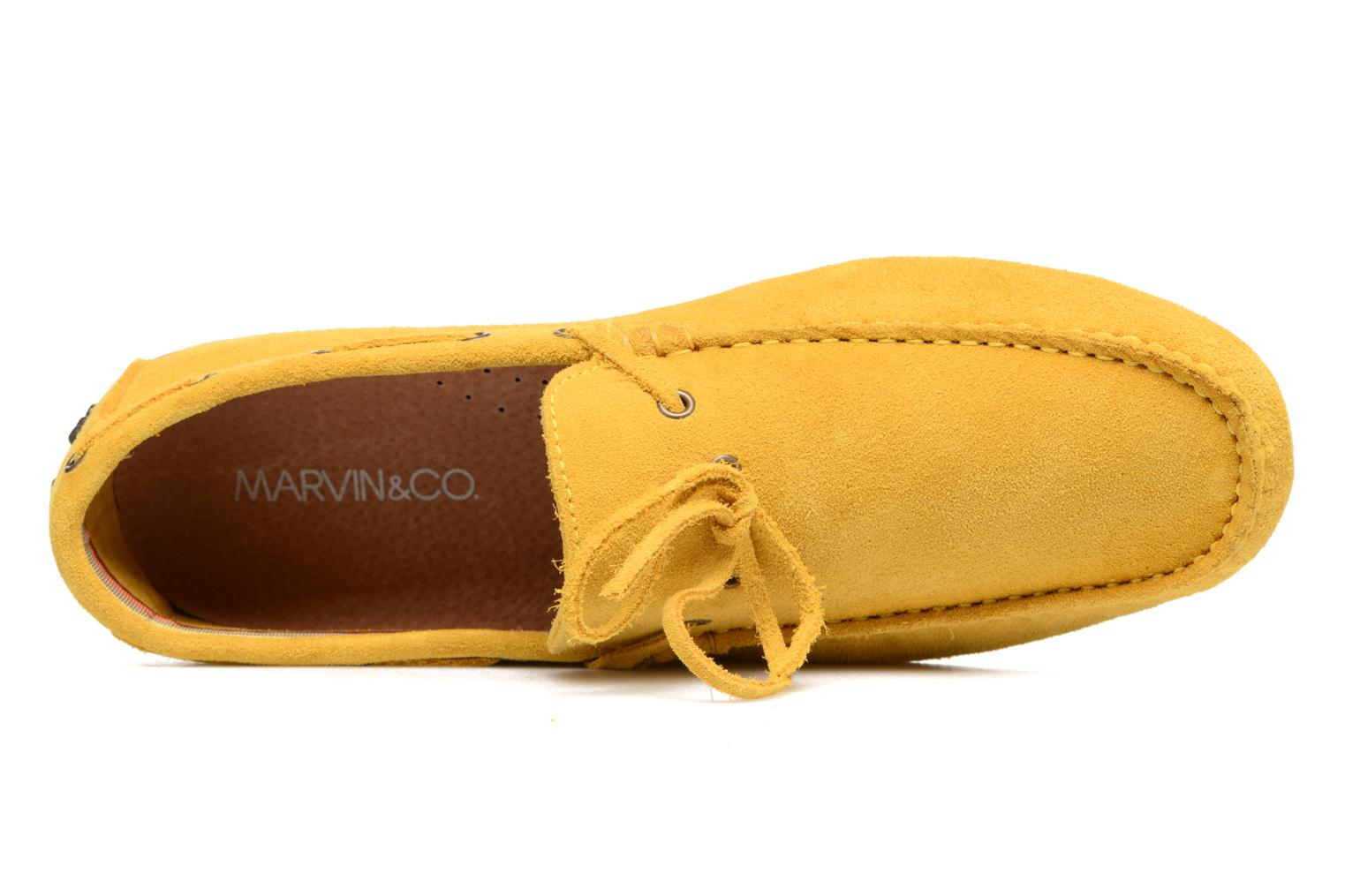 Mocassins Marvin&Co Stalban Jaune vue gauche
