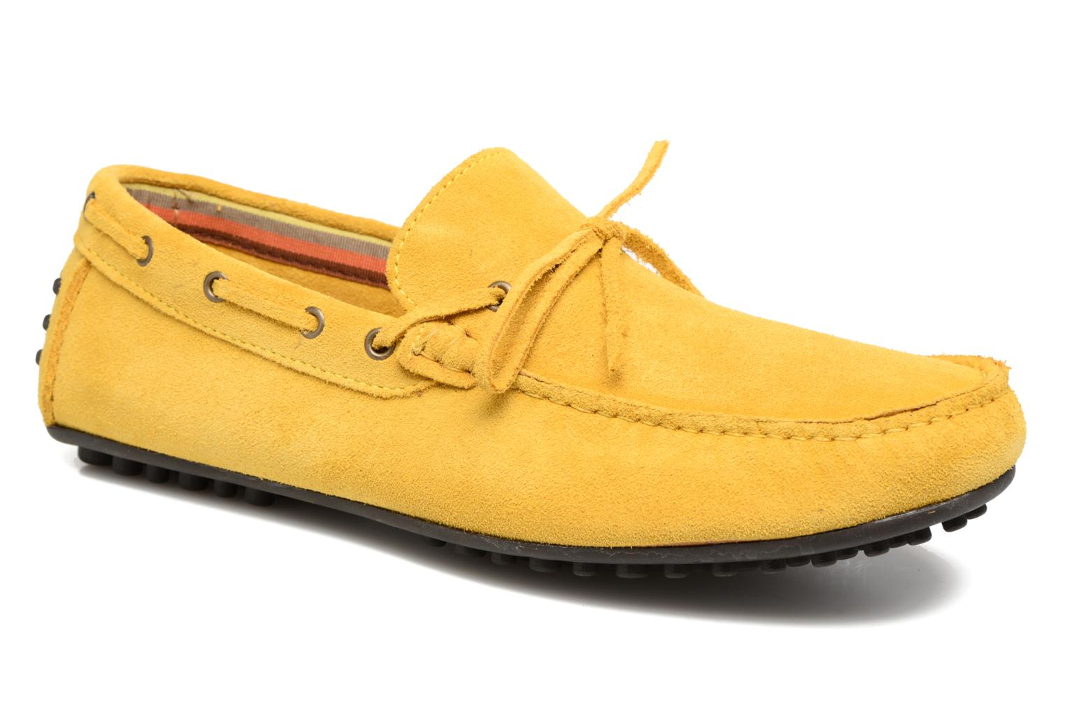 Mocassins Marvin&Co Stalban Jaune vue détail/paire