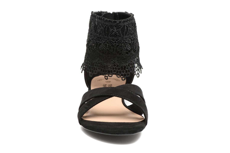 Sandales et nu-pieds Molly Bracken Lila Noir vue portées chaussures
