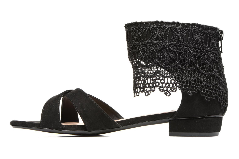 Sandales et nu-pieds Molly Bracken Lila Noir vue face