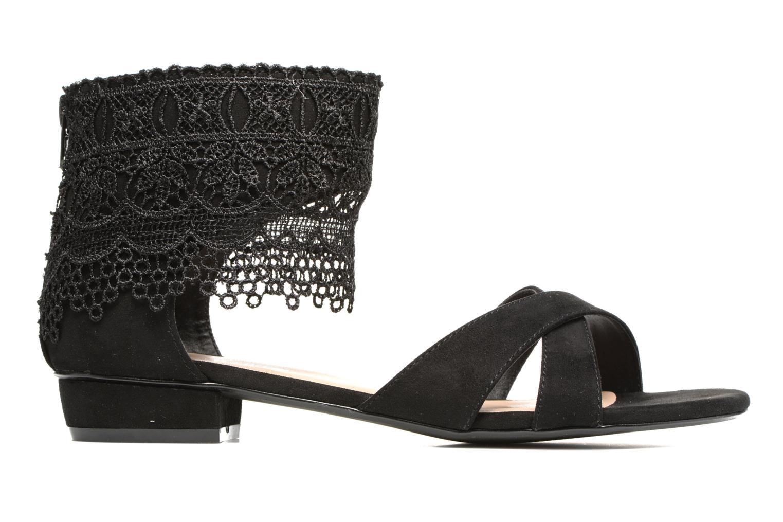 Sandales et nu-pieds Molly Bracken Lila Noir vue derrière