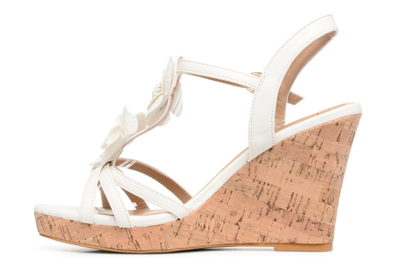 Sandales et nu-pieds Molly Bracken Nana Blanc vue face