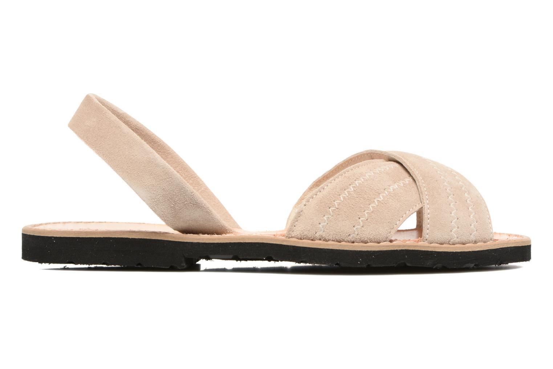 Sandales et nu-pieds MINORQUINES Avarca Berlin Beige vue derrière