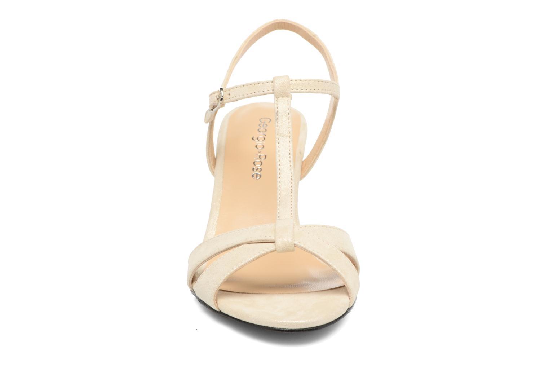 Sandales et nu-pieds Georgia Rose Satine Beige vue portées chaussures