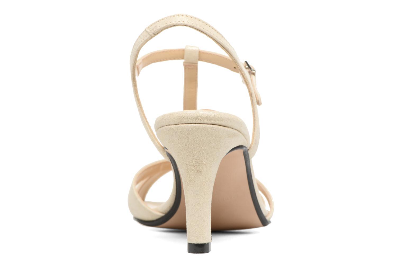 Sandales et nu-pieds Georgia Rose Satine Beige vue droite